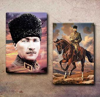 Atatürk - 2 Tablo Bir Arada I