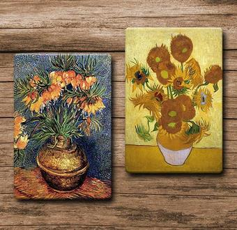 Vincent van Gogh 2 li tablo serisi